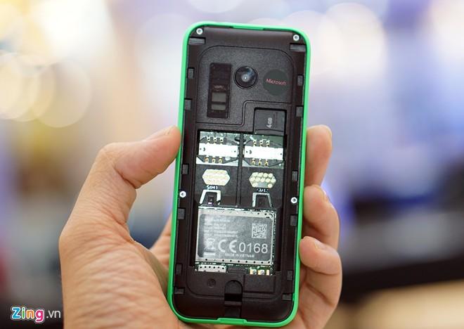 Khui hộp Nokia 215 với thời lượng pin chờ 27 ngày 8