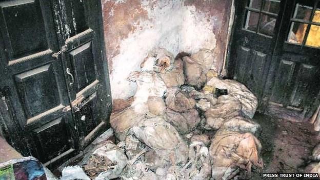 Phát hiện hàng chục phần thi thể người trong sở cảnh sát Ấn Độ 4