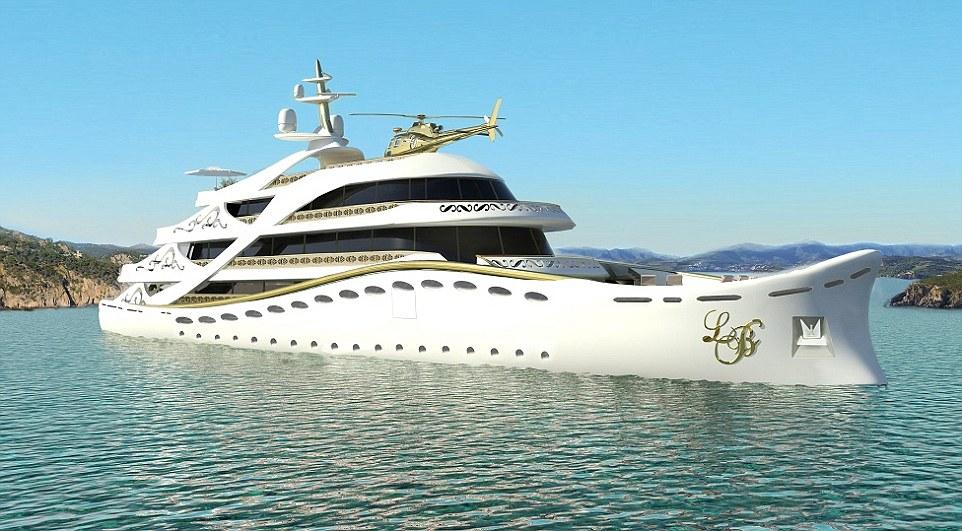 Chiêm ngưỡng siêu du thuyền dát vàng dành cho các nữ đại gia 7