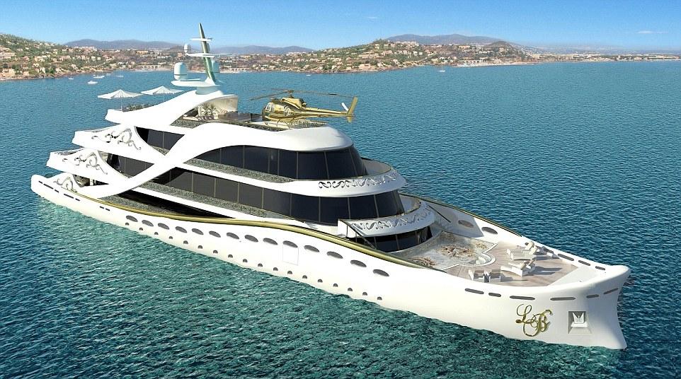 Chiêm ngưỡng siêu du thuyền dát vàng dành cho các nữ đại gia 12