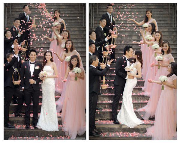 Trọn bộ ảnh cưới đẹp lung linh của Hoa hậu Trúc Diễm và chồng Việt kiều 10