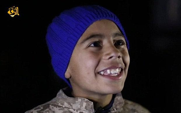 IS công chiếu video thiêu sống phi công Jordan trên màn ảnh rộng cho trẻ em 4