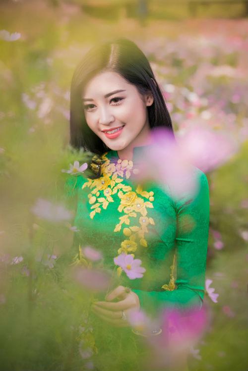 Á hậu Huyền My tươi như hoa giữa ngàn sắc xuân 6