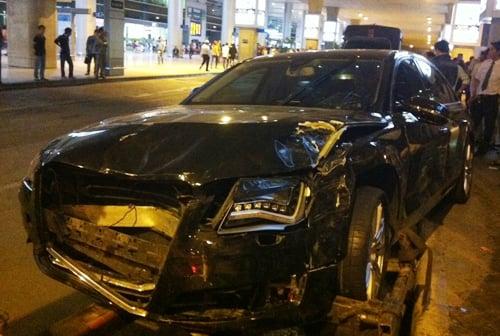 Xế sang Audi của Hồ Ngọc Hà tông hàng chục người bị thương? 5