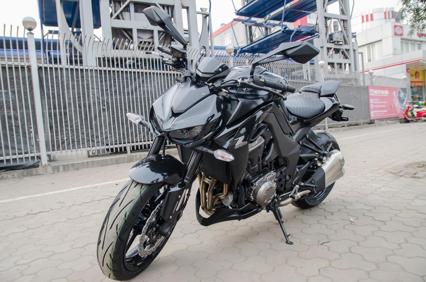 Kawasaki z1000 2015 black