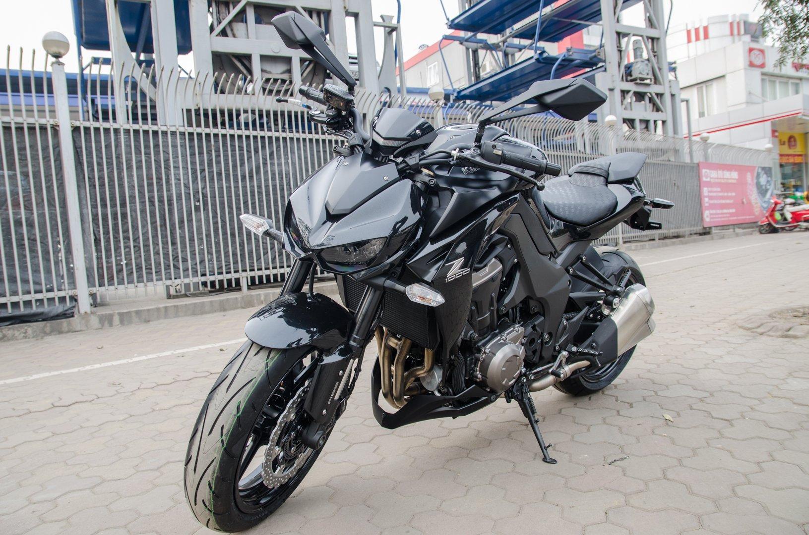 Hinh Anh Can Canh Kawasaki Z1000 2015 Black Edition Tai Ha Noi So 1