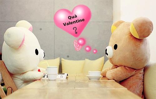 Món quà tặng nàng ngày Valentine