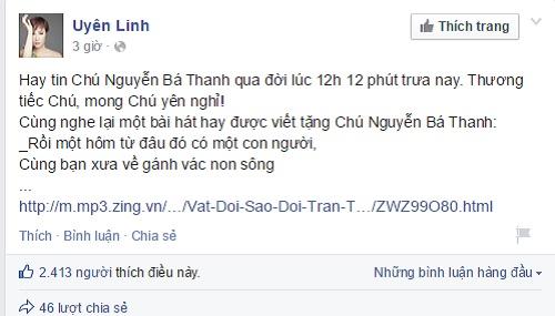 Sao Việt đau xót trước sự ra đi của ông Nguyễn Bá Thanh 5