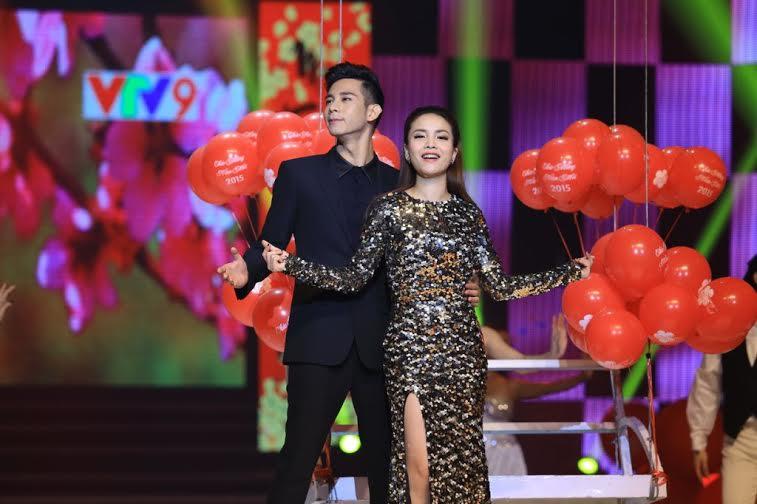Những cặp đôi đẹp nhất của showbiz Việt hội tụ Hương Tết Việt 2015 5