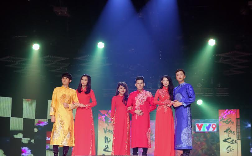 Những cặp đôi đẹp nhất của showbiz Việt hội tụ Hương Tết Việt 2015 8