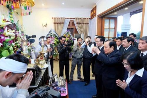 Viếng ông Nguyễn Bá Thanh, lãnh đạo Đảng, Nhà nước viết gì trong sổ tang? 11