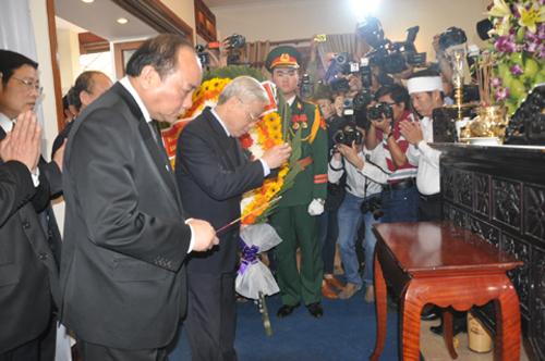 Phó Thủ tướng Nguyễn Xuân Phúc: Đồng chí Bá Thanh là một cán bộ lãnh đạo tận tụy 6
