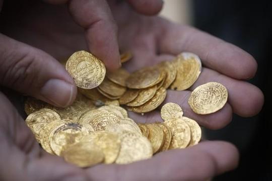 Phát hiện kho vàng khổng lồ ngoài khơi Israel 6