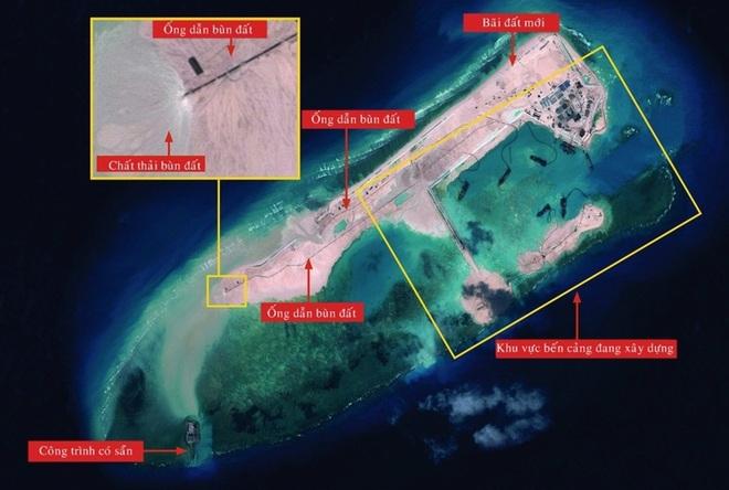 Trung Quốc tăng cường xây đảo trái phép trên Biển Đông 7