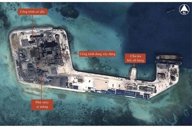 Trung Quốc tăng cường xây đảo trái phép trên Biển Đông 6