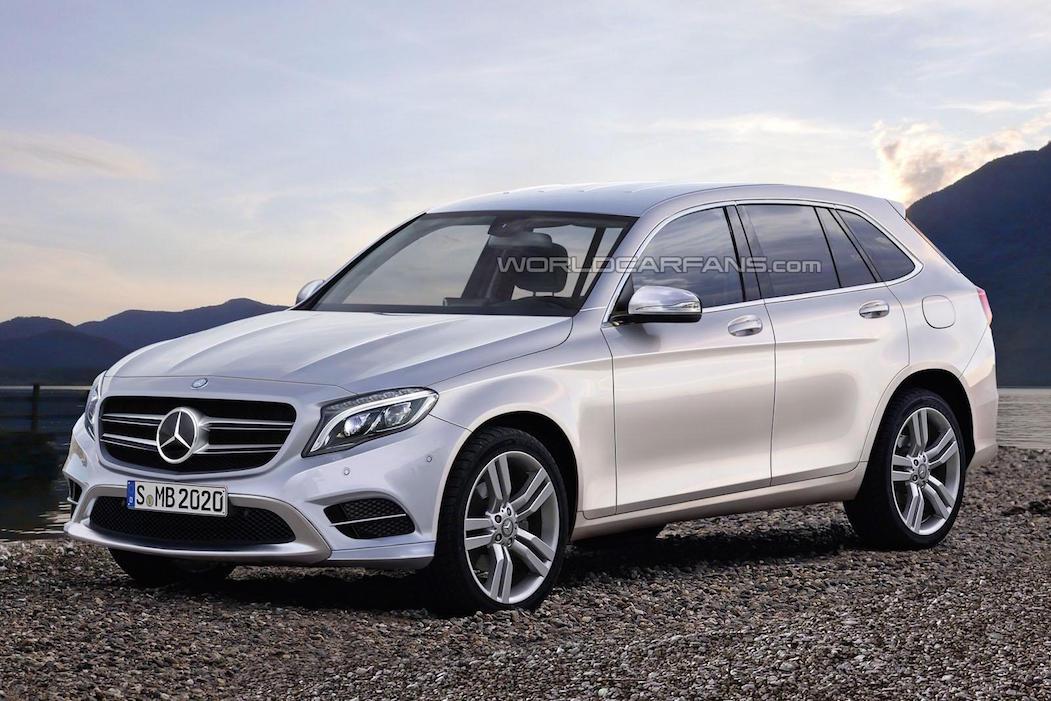 Toàn bộ SUV của Mercedes sẽ được nâng cấp trong năm 2015 5