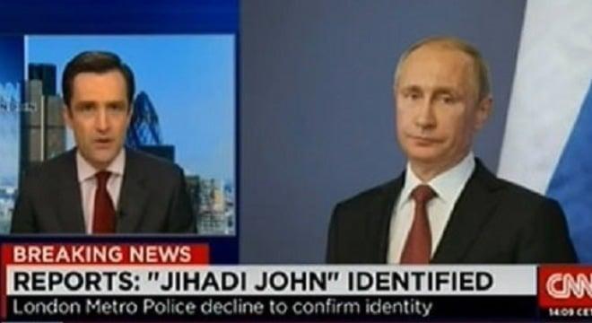 CNN phải xin lỗi vì dùng hình ông Putin minh họa cho đao phủ IS 5