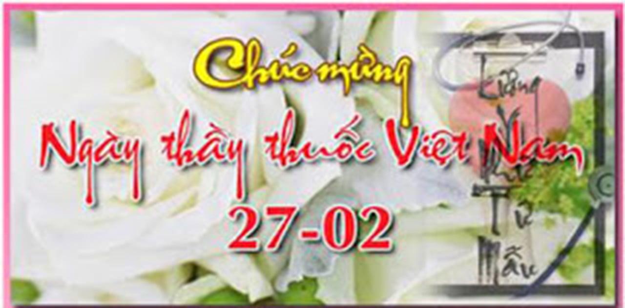 Hình ảnh Những lời chúc ý nghĩa ngày Thầy thuốc Việt Nam 27/2 số