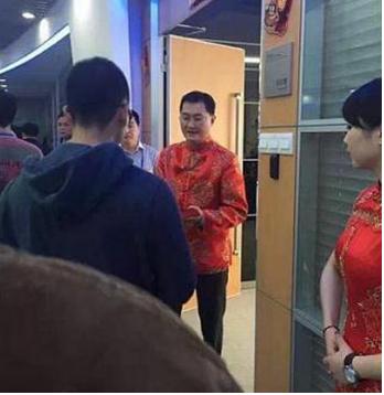 5.000 nhân viên Tencent xếp hàng chờ sếp lì xì đầu năm 7