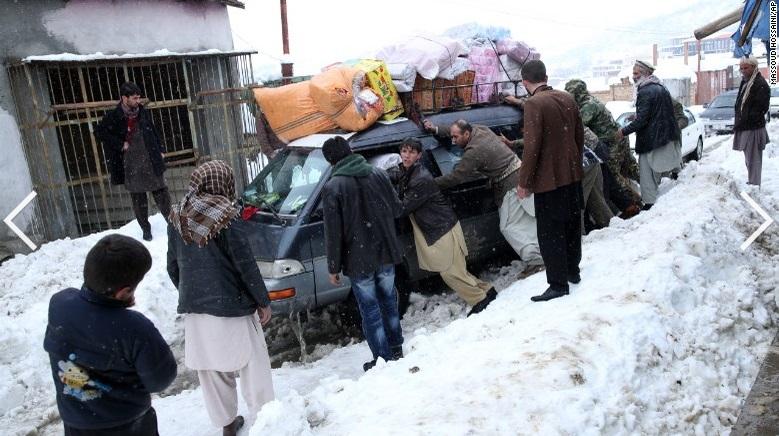 168 người thiệt mạng do lở tuyết ở Afghanistan 7