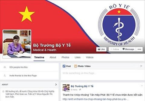 Bộ trưởng Bộ Y tế Nguyễn Thị Kim Tiến công khai địa chỉ Facebook 4
