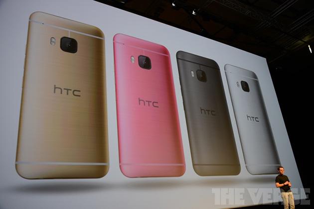 HTC One M9 chính thức ra mắt: Snapdragon 810, camera 20MP, có màu hồng 5