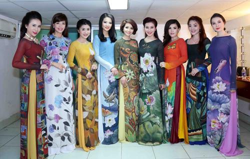 Hình ảnh Mai Thu Huyền đọ vẻ xinh đẹp bên Á hậu thể thao Băng Châu số 6