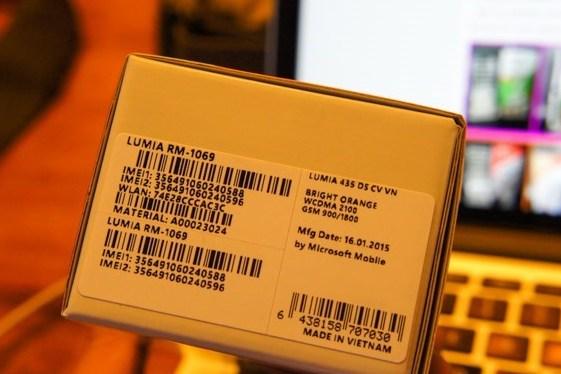 4h35p chiều 12/3 giá Lumia 435 chỉ còn 435.000VNĐ 6