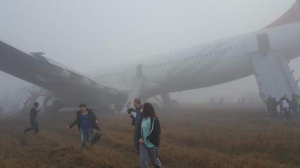 Máy bay Thổ Nhĩ Kỳ gặp tai nạn khi hạ cánh 7