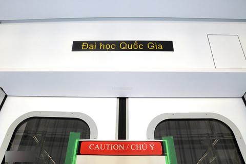 Phía trong tàu điện ngầm hiện đại đầu tiên của Việt Nam 13