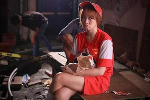 Công Phượng bất ngờ được Hari Won mang vào phim mới 7