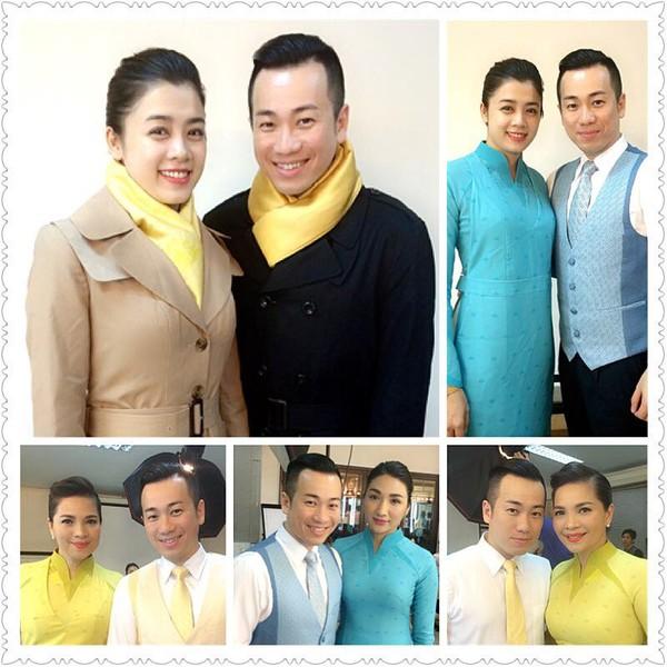 tv8 Dàn nữ tiếp viên hàng không VietnamAirlines cực xinh trong bộ đồng phục mới