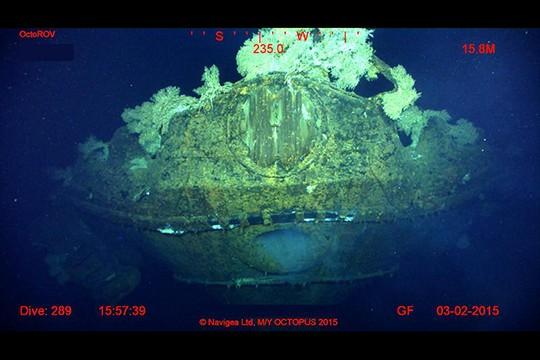 Tỷ phú Mỹ phát hiện chiến hạm Nhật mất tích trong Thế chiến II 5