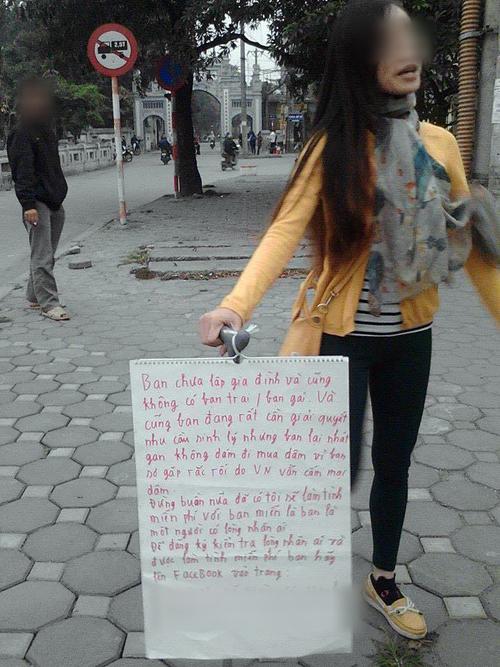 Cô gái lạ với thông điệp gây sốc cộng đồng Facebook 6