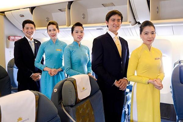 Cận cảnh đồng phục mới của Vietnam Airlines trên chuyến bay thử nghiệm 5