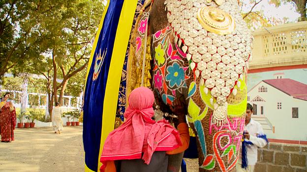 Đám cưới xa hoa như trong cổ tích của hoàng tử Ấn Độ 8