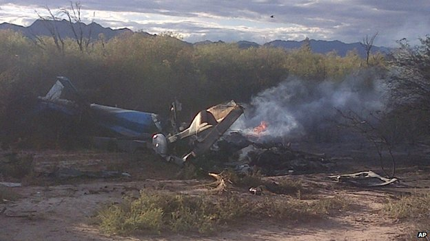 Hai trực thăng đoàn phim va chạm nhau, 10 người thiệt mạng 5
