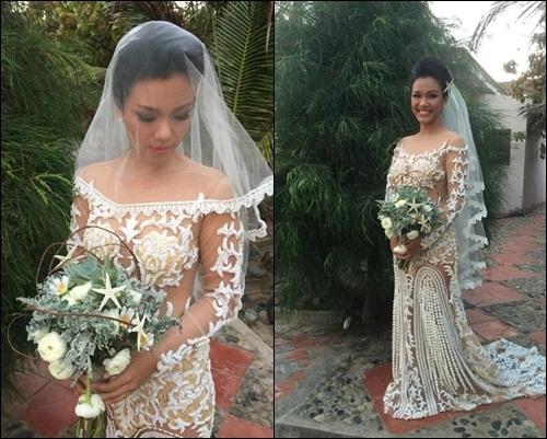 Toàn cảnh đám cưới đẹp như mơ của Phương Vy và bạn trai Việt Kiều 4