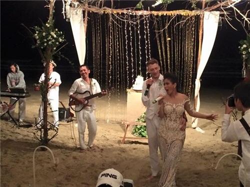 Toàn cảnh đám cưới đẹp như mơ của Phương Vy và bạn trai Việt Kiều 6