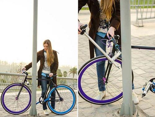 Chiếc xe đạp 'không thể ăn trộm' thách thức mọi loại kẻ cắp 6