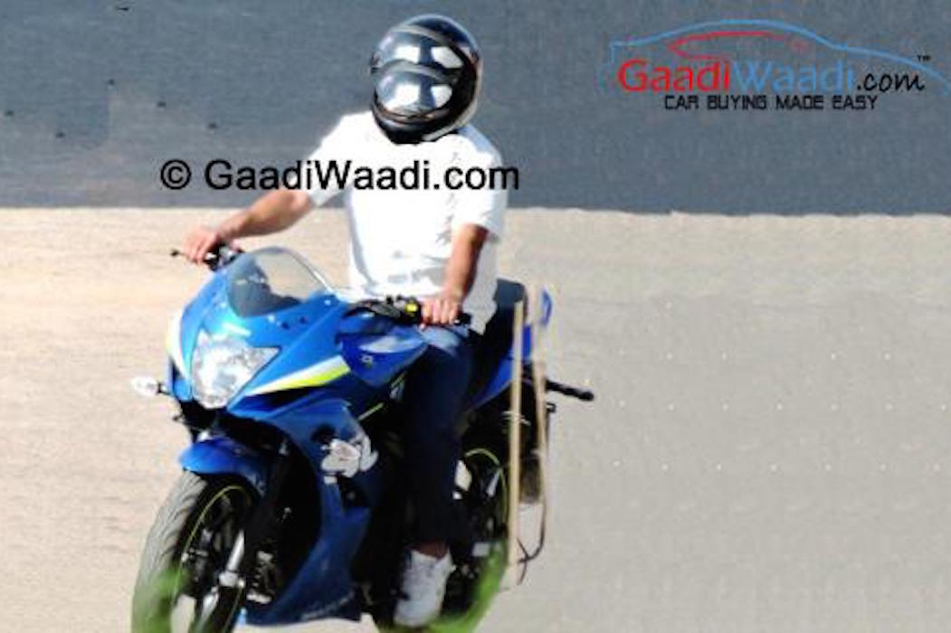 Suzuki ra mắt xe mới cạnh tranh Yamaha R15 và Honda CBR150R 5