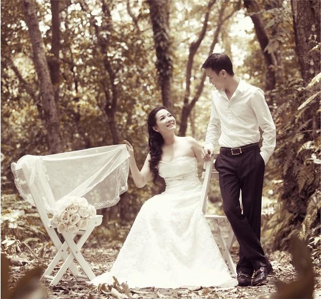 Cô dâu Thanh Thanh Hiền gợi cảm bên chú rể Chế Phong 8