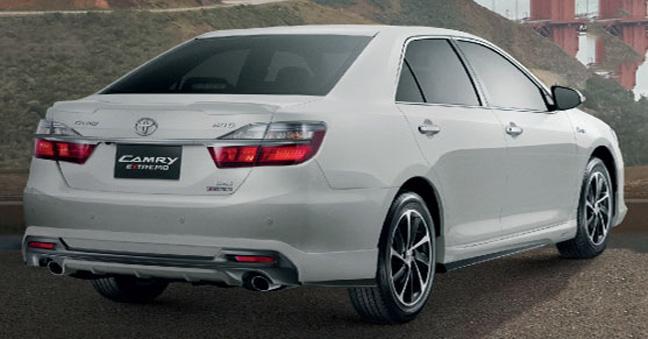 Soi những thay dổi của Toyota Camry 2015 phiên bản Thái Lan 7