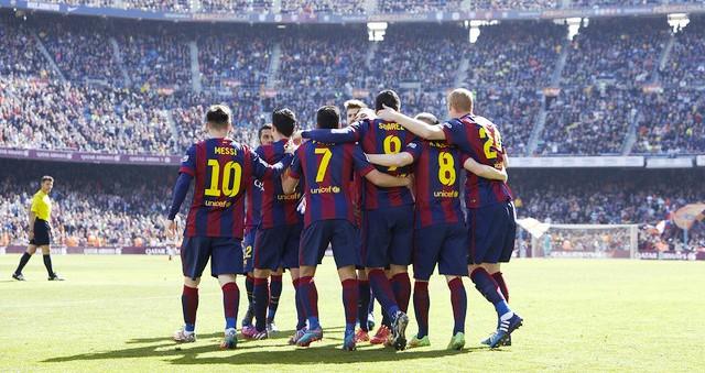 Barca dẫn đầu châu Âu về khoản ghi bàn 5