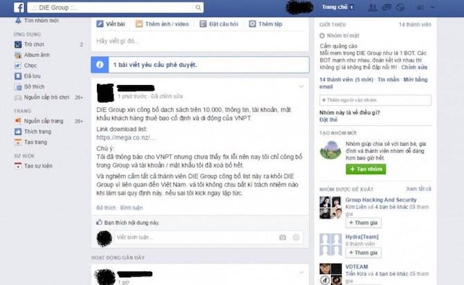 50.000 khách hàng VNPT Sóc Trăng bị hacker công bố dữ liệu 5