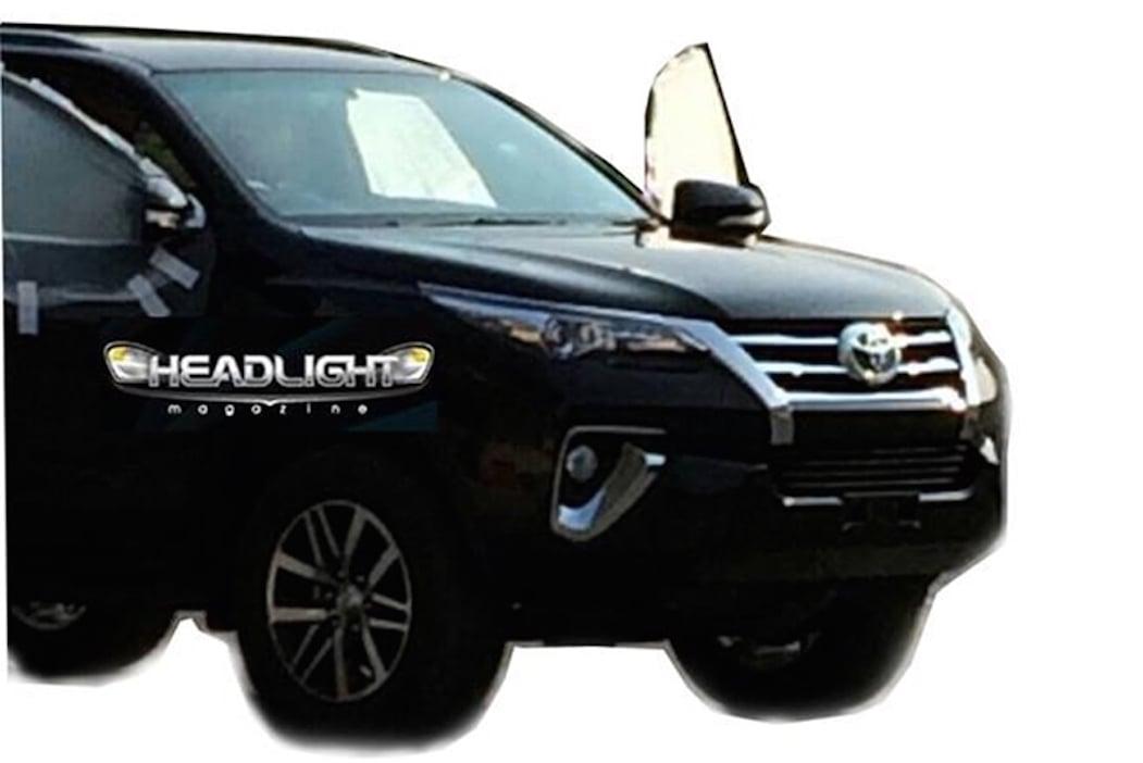 Lộ diện thiết kế của Toyota Fortuner hoàn toàn mới 5