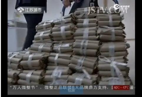 Đại gia dùng xe tải chở 600kg tiền xu đi mua nhà 6