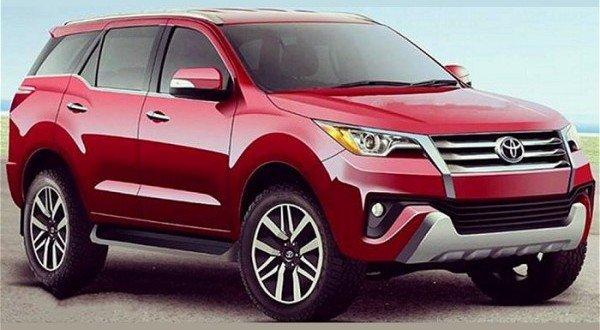 Lộ diện thiết kế của Toyota Fortuner hoàn toàn mới 6