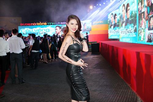 Việt My xuất hiện đầy cá tính trong buổi ra mắt phim  5
