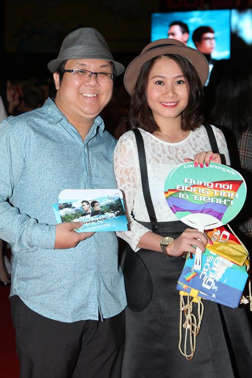 Việt My xuất hiện đầy cá tính trong buổi ra mắt phim  12